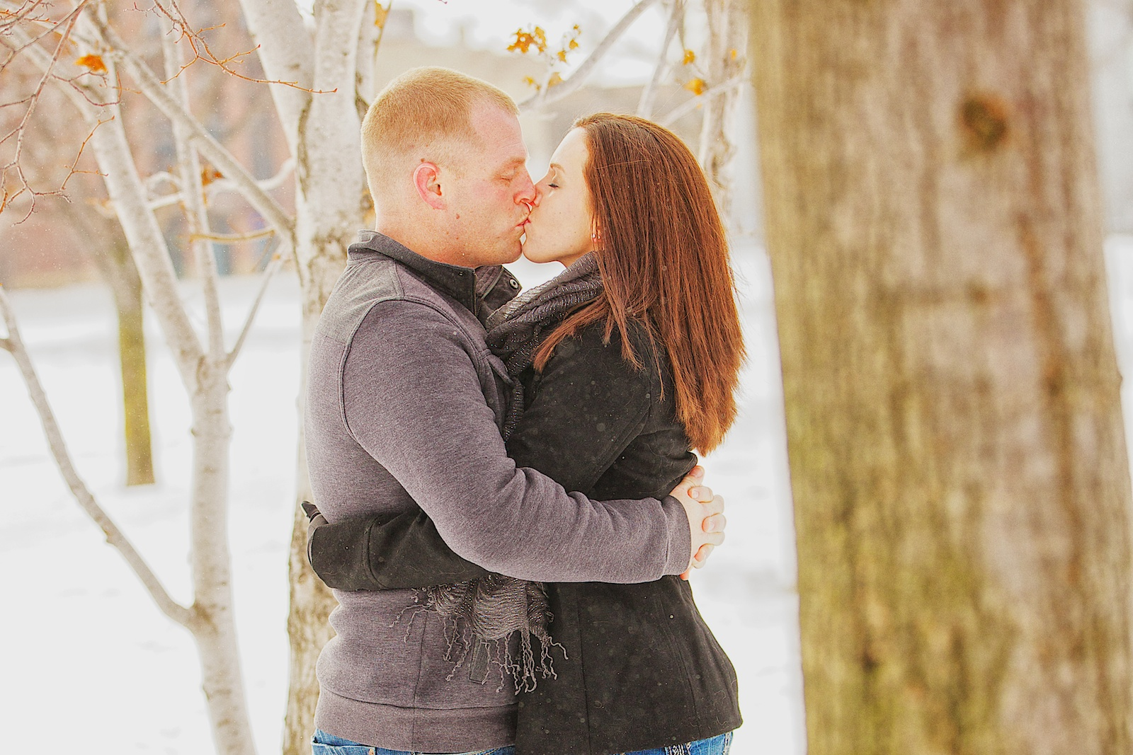 Minneapolis Winter Engagement Photos 13