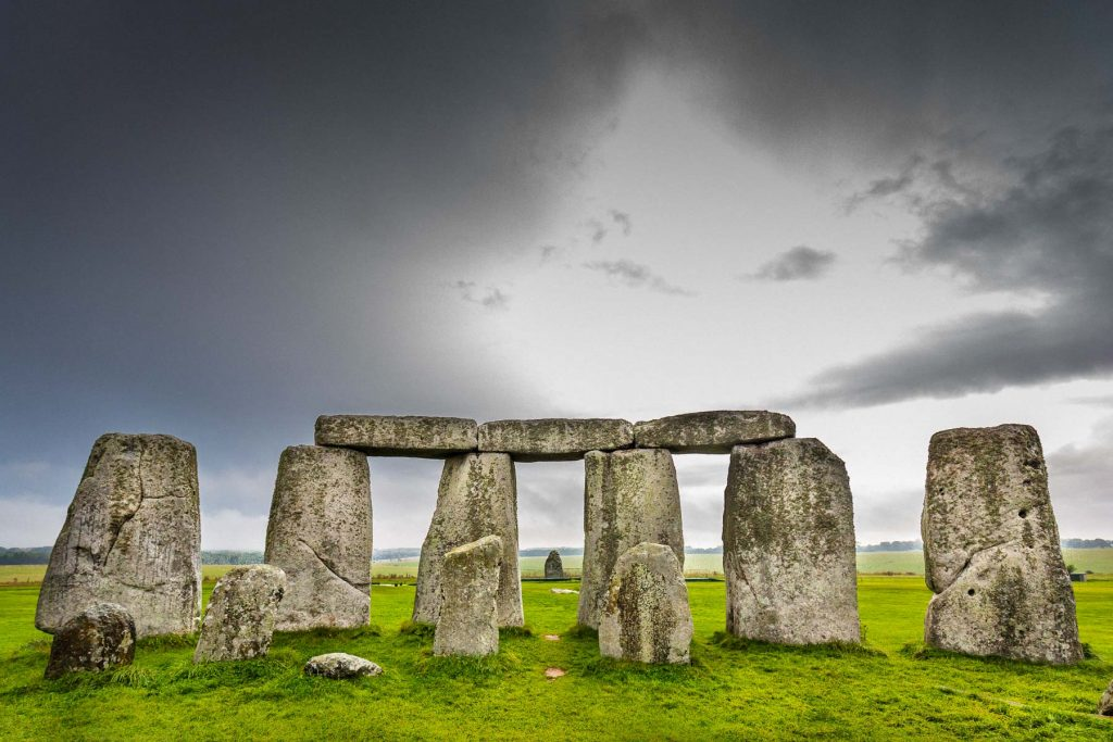 Unique Stone Henge Photo